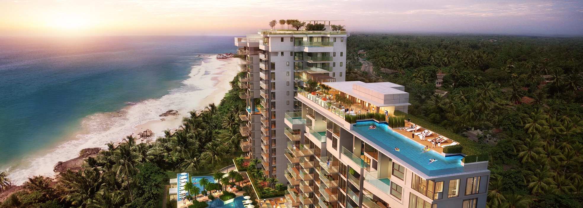 Beachfront Apartments | Balapitiya